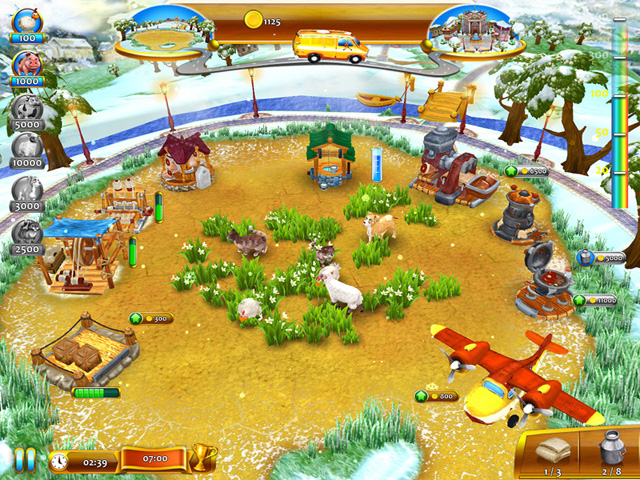 Screenshot ze hry  «Farm Frenzy 4» № 3