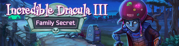 Hra Incredible Dracula III Family Secret
