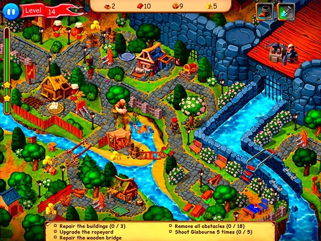 Screenshot ze hry  «Robin Hood: Country Heroes. Collector's Edition» № 7
