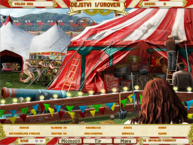 Screenshot ze hry  «Runaway With the Circus» № 1