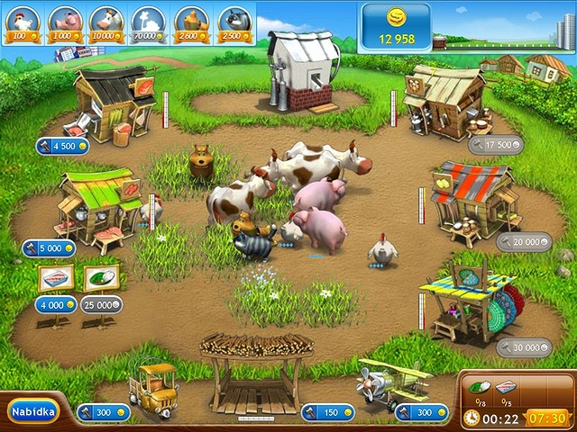 Screenshot ze hry  «Farm Frenzy 2» № 7