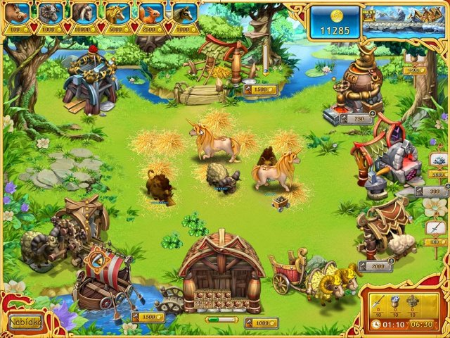 Screenshot ze hry  «Farm Frenzy: Viking Heroes» № 2