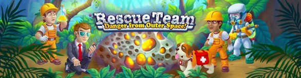 Hra Rescue Team Danger from Outer Space