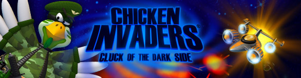 Hra Chicken Invaders 5 Cluck of the Dark Side