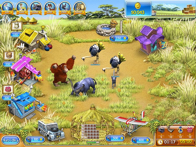Screenshot ze hry  «Farm Frenzy 3: Madagascar» № 4