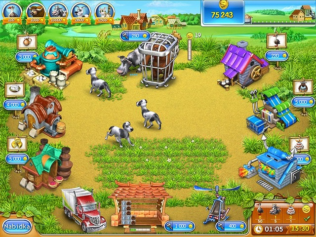 Screenshot ze hry  «Farm Frenzy 3» № 6