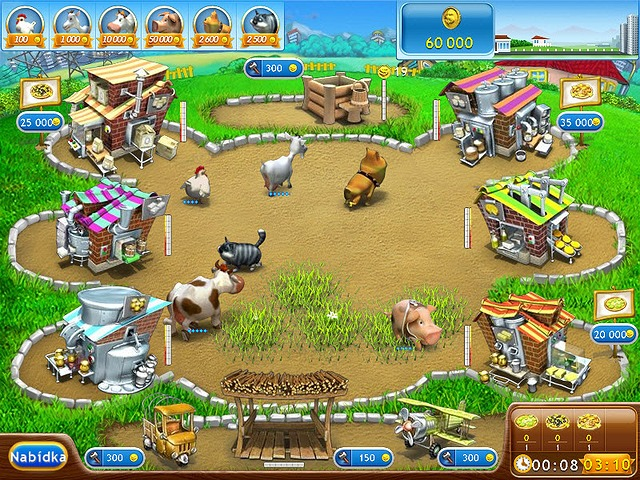 Screenshot ze hry  «Farm Frenzy 2: Pizza Party!» № 1