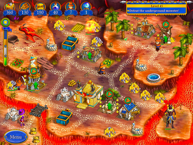 Screenshot ze hry  «New Yankee in Pharaoh's Court 6» № 3