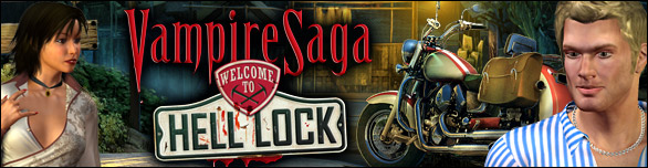 Hra Vampire Saga Welcome to Hell Lock