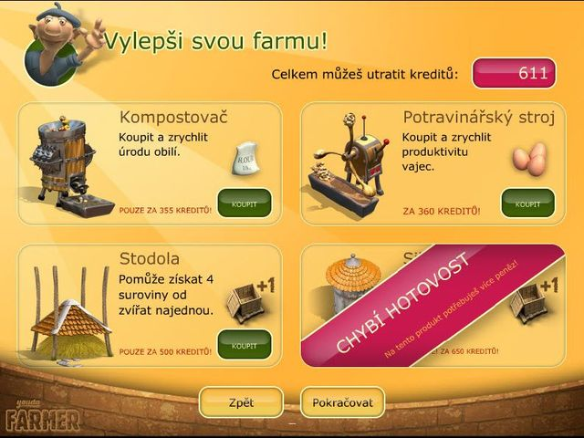 Screenshot ze hry  «Youda Farmer» № 5