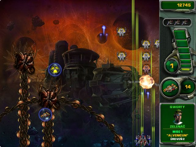 Screenshot ze hry  «Star Defender 4» № 6