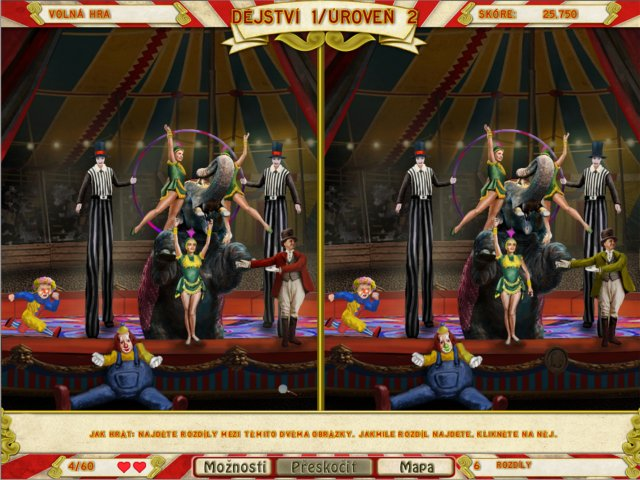 Screenshot ze hry  «Runaway With the Circus» № 4