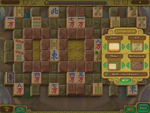 Screenshot ze hry  «Legendary Mahjong» № 4