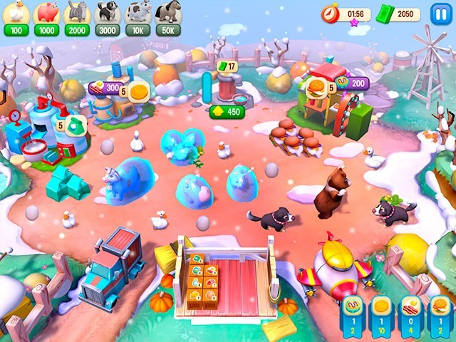 Screenshot ze hry  «Farm Frenzy Refreshed. Collector's Edition» № 5