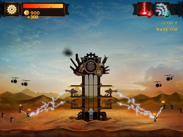 Screenshot ze hry  «Steampunk Tower» № 1