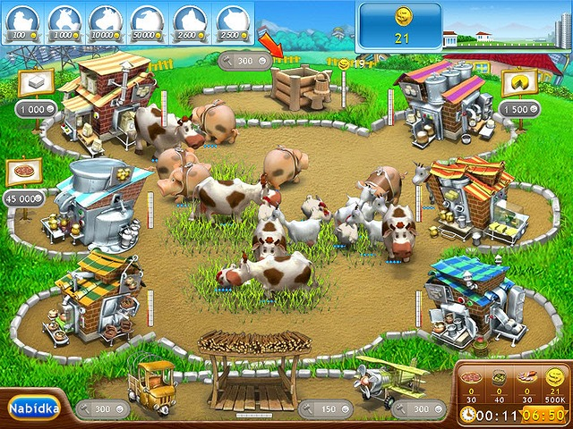 Screenshot ze hry  «Farm Frenzy 2: Pizza Party!» № 7