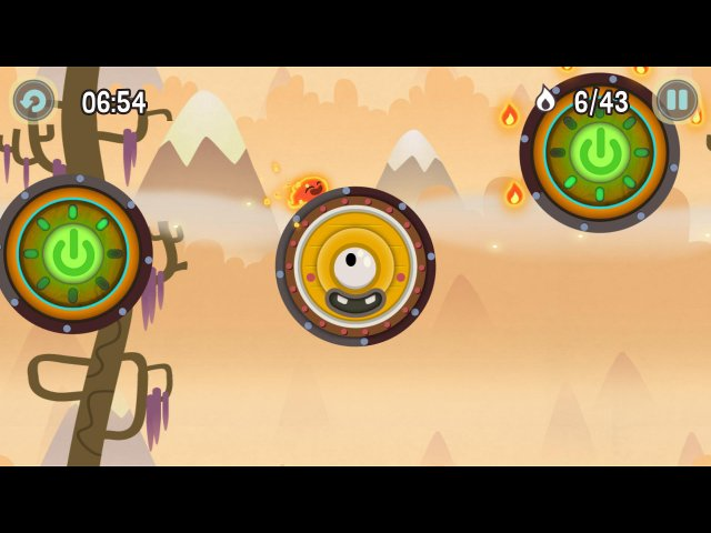 Screenshot ze hry  «Pyro Jump» № 2
