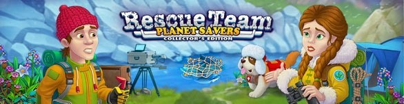 Hra Rescue Team Planet Savers Collector s Edition