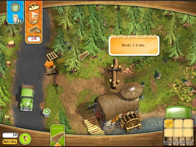 Screenshot ze hry  «Youda Farmer 2: Save the Village» № 5