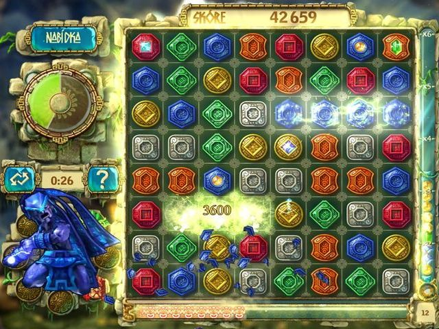 Screenshot ze hry  «The Treasures Of Montezuma 3» № 6