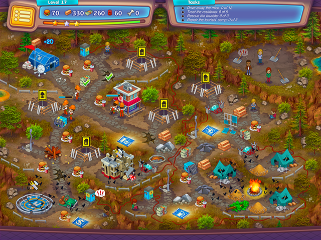 Screenshot ze hry  «Rescue Team: Evil Genius. Collector's Edition» № 4