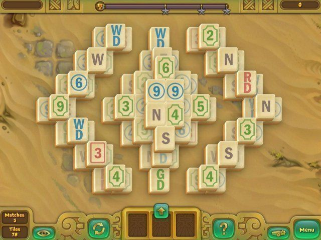 Screenshot ze hry  «Legendary Mahjong» № 2