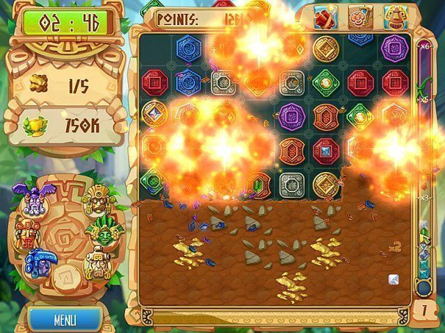 Screenshot ze hry  «The Treasures of Montezuma 5» № 2