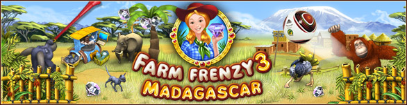 Hra Farm Frenzy 3 Madagascar