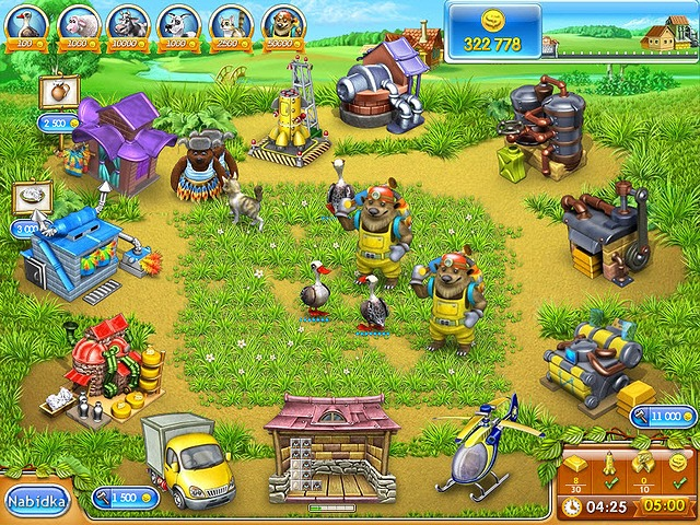 Screenshot ze hry  «Farm Frenzy 3: Ruská ruleta» № 3