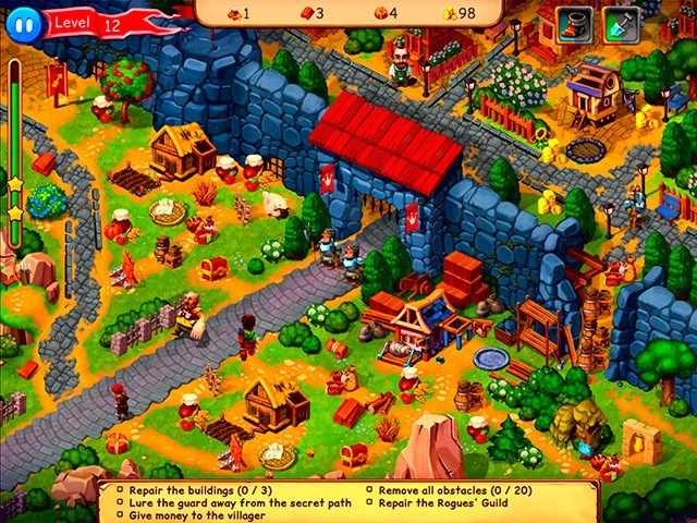 Screenshot ze hry  «Robin Hood: Country Heroes. Collector's Edition» № 1