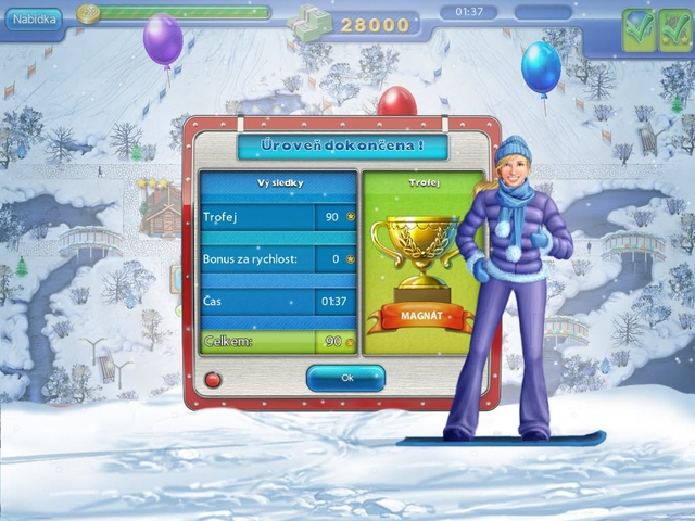 Screenshot ze hry  «Ski Resort Mogul» № 7